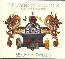 BEN TAYLOR - The Legend Of Kung Folk Part 1 (The Killing Bite) - CD