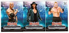 2016 Topps Wwe Road To Wrestlemania Lista 30-CARD Insert Set