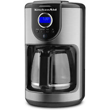 KitchenAid 12-Cup Glass Carafe Coffee Maker in Onyx Black - KCM111OB