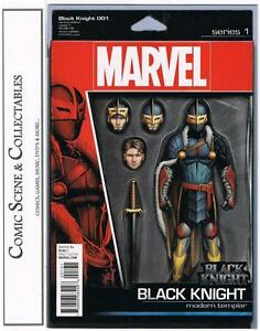 BLACK KNIGHT  #1  ACTION FIGURE VARIANT  {NM}  MARVEL, BAGGED & BOARDED