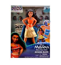 disney moana Deco Your Own Bank toys learn decoration