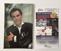 Dean Stockwell Signed Autographed 3.5 x 5.5 Photo JSA Certified Quantum Leap