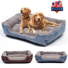 New listing Pet Dog Cat Bed Puppy Cushion House Pet Soft Warm Kennel Dog Mat Blanket Home Us
