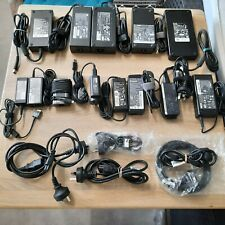 BULK LOT of 13 laptop chargers/AC adapters- Dell, HP, Toshiba, Lenovo and Acer