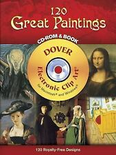 120 Great Paintings CD-ROM and Book (Dover Full-Color Electronic Design)