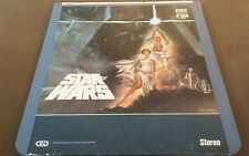 Vintage Star Wars New Hope ~ Capacitance Electronic Disc System ~ 1982 Fox Video