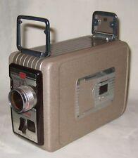 Vintage Kodak Brownie 8mm Movie Camera II 13mm f/2.3 Lens TESTED & WORKS