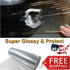 "84"" x 5FT Clear Bra Paint Restore Vinyl Wrap Protection Film Anti Scratch Shield"