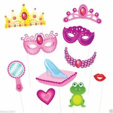 Photo Booth Princess Party Probs Girls Birthday Celebration Party Game Selfie