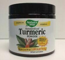 (New) Nature's Way Standardized Turmeric Powder, 3 oz
