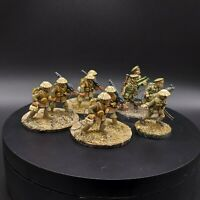 Well Painted 28mm Ww1 British Machine Gun Teams (10 figures) wargames foundry