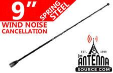 "9"" Black Spring Stainless AM/FM Antenna Mast Fits: 1982-2002 Pontiac Firebird"