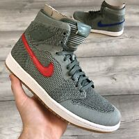 NIKE AIR JORDAN 1 RETRO HI FLYKNIT SIZE UK7.5/US8.5 919704-333