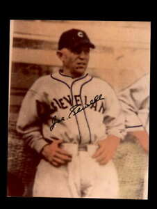 Joe Sewell Hand Signed 8x10 Photo Autograph Cleveland Indians