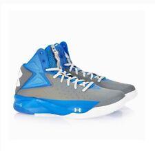 Under Armour Blue/Grey Men's UA Rocket Basketball Shoes Size UK 6 USA 7 EUR 40