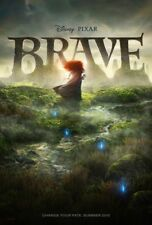 BRAVE MOVIE POSTER 2 Sided ORIGINAL Advance 27x40 KELLY MACDONALD