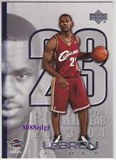 2005-06 UPPER DECK EXCLUSIVE BONUS: LeBRON JAMES #LJ22 NBA REGULAR SEASON MVP