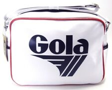 Gola Classic Retro White/Navy/Red Messenger Bag