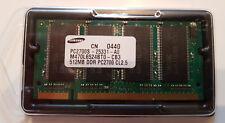 Samsung 512MB PC-2700S DDR-333 SODIMM RAM Apple PowerBook G4, Notebook u.a.