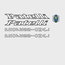 Patelli Professional Bicicletta Decalcomanie, trasferimenti, ADESIVI n.2