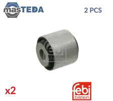 2x FEBI BILSTEIN REAR LOWER FRONT CONTROL ARM WISHBONE BUSH 21968 I NEW