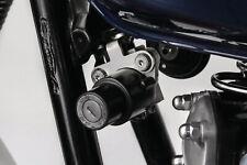XS650 SE Edelstahl schwarz Zündschlosshalter versetzt das Zündschloss unter Tank