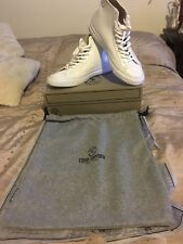 Todd Snyder x PF Flyers mens white leather hi top sneakers size 11