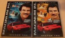 Magnum P.I. Lot: Complete Seasons One and Two (DVD, 2012, Two 6-Disc Sets) VGC