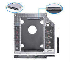 """2nd HDD Caddy SATA 3.0 To SATA 2.5"""" SSD Case 9.5mm Aluminum for DVD OptiBay"""