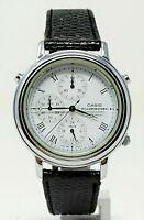 Orologio Casio mqb-100 chrono watch dial illuminator vintage clock anni 90 rare