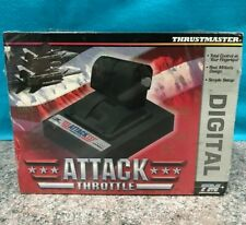 THRUSTMASTER ATTACK THROTTLE FOR PC **BRAND NEW & SEALED** FREE POST