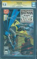 Batman 418 CGC 2X SS 9.8 Mike Zeck Jim Starlin Signed KG Beast White pgs