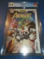 Empyre Avengers #1 Jacinto Variant CGC 9.8 NM/M Gorgeous Gem Wow