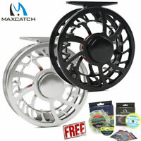 Maxcatch HVC Waterproof Fly Reel 3/4/5/6/7/8/9/10/11/12WT Saltwater Fly Fishing