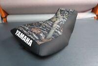 Yamaha Grizzly 660 Logo Camo Top Seat Cover #yz71kya71