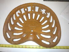 NEW PLANO  CHICAGO  JONES  REAPER  FARM BAR STOOL TRACTOR CAST IRON  SEAT