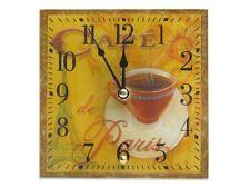 Tischuhr aus Glas *Café de Paris* 15x15 cm Uhr - 20407