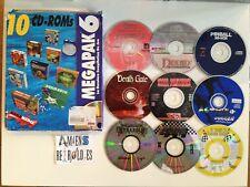Compilation Megapak 6 comprenant 9 jeux : Kyrandia 3, Ripley, Steel panthers...