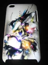 Abstract Hard Cover Case iPod Touch 4th Gen Multi-Colored Liquid Abstract Art