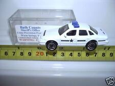 MATCHBOX 2002 BATH COUNTY WARM SPRINGS VA. SHERIFF'S OFFICE FORD CROWN VIC NuBxd