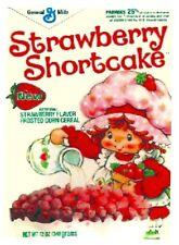 STRAWBERRY SHORTCAKE 80's Cereal Box  Retro Vintage HQ  Fridge Magnet *02