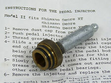 Stein Tool Pedal Injector Shimano XT For Greasing Pedals Model II NOS