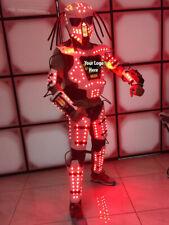 NEW MINI AMAZING LED ROBOT COSTUME ROBOTS SUIT DJ TRAJE PARTY SHOW GLOW SUITS