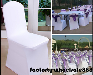 Wholesale Polyester Banquet Chair Covers Wedding Reception Party Decorations New