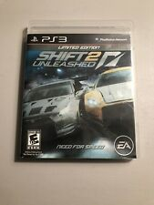 Need For Speed Shift 2 Unleashed Limited Edition (PlayStation 3, 2011) PS3 CIB
