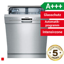 Siemens iQ300 SN436S02IE 60cm Unterbau-Geschirrspüler - Silber