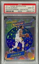 2017-18 REVOLUTION BASKETBALL KEVIN DURANT SHOWSTOPPERS GALACTIC #1 PSA 10 [MS]
