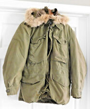 ARMY JACKET FIELD OLIVE GREEN SHADE M 1951 COLD WEATHER SHORT MEDIUM KOREA