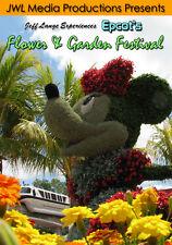 Walt Disney World Epcot Flower & Garden Festival 2008 DVD Fun Character Topiary