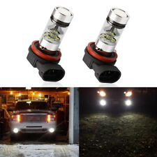 2* 9006 HB4 2323 SMD 100W LED High Power 8000K Fog Driving lights Bulbs White